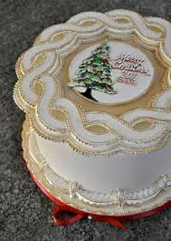 Christmas Cake Decorations Templates by 95 Best String Work On Cakes Royal Icing Images On Pinterest