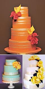 amazing fall wedding cake colors junebug weddings