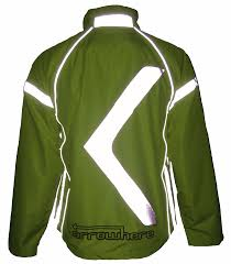 mens hi vis waterproof cycling jacket arrowhere waterproof jacket n a euro