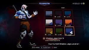 killer instinct shadow jago all colors youtube