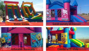 party rentals az party jumpers bouncers rental casa grande az my rainbow jumpers