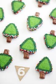 sprinkle christmas tree cookies sprinkle bakes