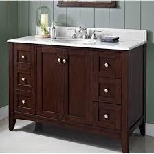 48 Single Sink Bathroom Vanity by Shaker Americana 48