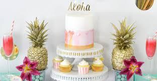 themed bridal shower ideas kara s party ideas tropical aloha themed bridal shower