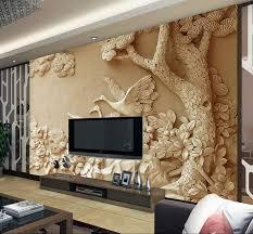 popular wallpaper tree buy cheap wallpaper tree lots from china custom 3d wall mural european relief tree photo wallpaper for living room 3d mural bedroom wallpaper