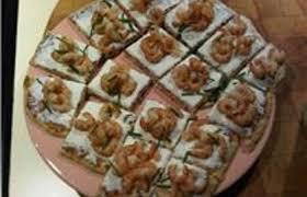 recette canape canapé aux crevettes grises recette dukan pp par bagheera08