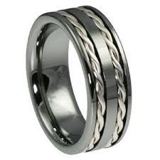 mens infinity wedding band unique rope mens wedding bands search wedding