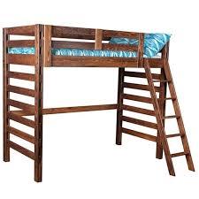 wooden loft bed u2013 fxteam club