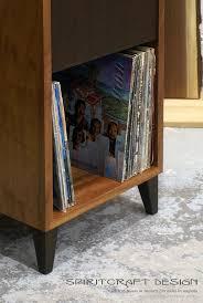Lp Record Cabinet Furniture Madison Avenue Mid Century Modern Hardwood Furniture