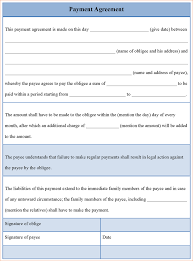 monthly payment contract template 28 images monthly payments