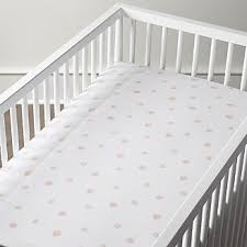 Crib Mattress Sheets Crib Fitted Sheets Crate And Barrel