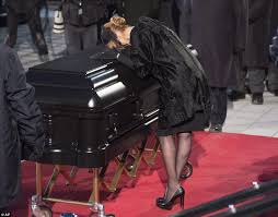 Words Of Comfort For Funeral Celine Dion Leads Second Day Of Mourning At René Angélil U0027s Funeral