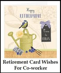 words for retirement cards sle messages and wishes retirement