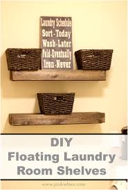 Laundry Room Shelving by Small Laundry Room Shelf Ideas Add Shelving To Unused Corners