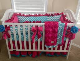 Pink Chevron Crib Bedding Pink Chevron Crib Bedding White Bed