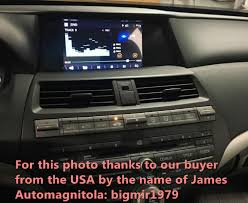 tpms honda accord 2008 8 car dvd player gps radio stereo navi for honda accord 2008 2012
