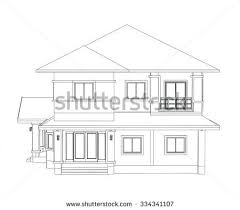 house drawings simple house drawing stock images royalty free images vectors