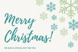 gift certificate templates canva
