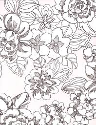 tropical flowers coloring pages coloring pages