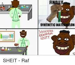 Sheit Meme - finally synthetic on lliitt sheit raf meme on me me