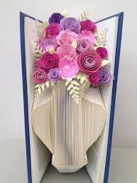 Free Vase Book Folding Pattern Vase Flower Vase Free Tutorial