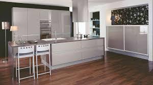 meuble cuisine gris clair jet gris taupe brillant home home