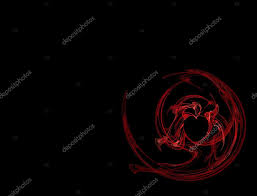 heart design for powerpoint red heart design on black background with copy space can be used for