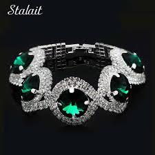 silver rhinestone bracelet images Fashion crystal bracelet silver color clear rhinestone bracelet jpg