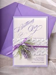 lavender wedding invitations custom listing 100 lavender wedding invitations lace bally band