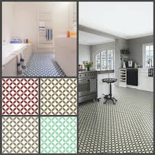 Floor Lino Bathroom Victorian Tile Design Vinyl Flooring Sheet Non Slip Lino Kitchen