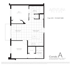 Floor Plans For Condos by Aventura Condos For Sale At Aventura Place Aventura Homes For