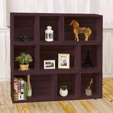 Bookcases With Ladder by Altra Furniture Tiffany Espresso Ladder Bookcase 9802196 The