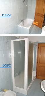 trasformare una doccia in vasca da bagno trasformazione della vasca in doccia in una sola giornata con