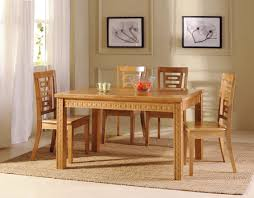 Wooden Dining Set Furniture Rustic Solid Wood Farmhouse Dining Room Table Chair Set Liberty