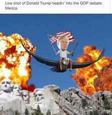Patriotic Eagle Meme - 20 best memes that show donald trump for the redneck he truly is