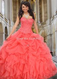 coral quince dresses home design coral color quinceanera dresses rustic large coral