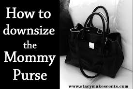 how to downsize how to downsize the mommy purse humorous homemaking