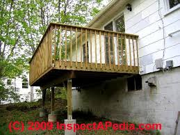 details of deck u0026 porch construction how to build a deck that won