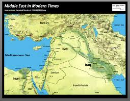 mid east map bible map middle east in modern times