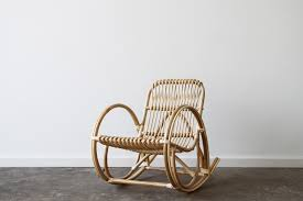 deco rattan kids rocking chair naturally cane rattan and wicker