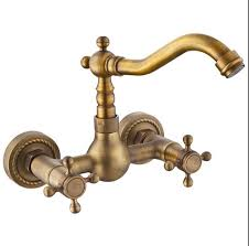 kitchen faucets copper antique wall mounted kitchen faucet copper rotation vegetable
