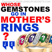 mothers rings with birthstones what gemstones go in s rings jewelry secrets