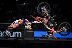x games freestyle motocross height of x games megaramp course overwhelms fans athletes