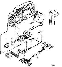 Mercury 25 Hp 2 Stroke Wiring Diagram Mercury 25 2 Cyl International 0n018456 Thru 0n055504
