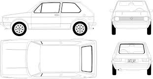 volkswagen drawing volkswagen golf mk1 1975 jpg 104123 1938 1014 pics for cakes