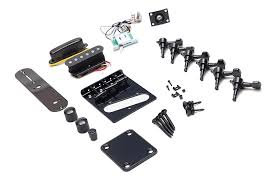 is black hardware in style black telecaster hardware kit