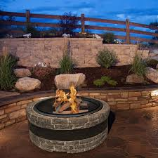 diy outdoor wood burning fire pit heavy duty wood burning fire pit