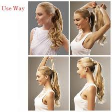 ponytail hair extensions afro curly ponytail human hair extension drawstring pony