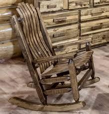 Rocking Chair Gliders Log Glider Rocking Chair Log Rocking Chairs U0026 Rustic Rocking