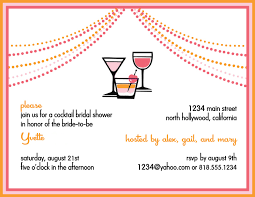 cocktail party invitation wording thebridgesummit co
